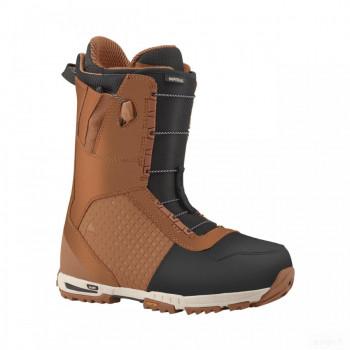 snowboard homme burton boots de snowboard burton imperial brown/black Grosses soldes