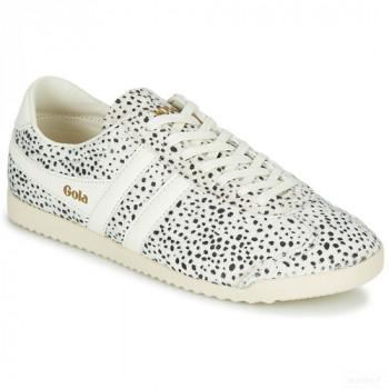 Gola Bullet Cheetah Blanc / Noir Baskets Basses Femme En ligne Shop