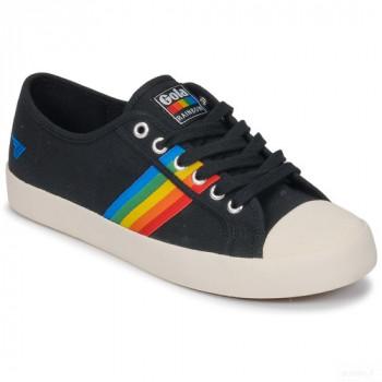 Gola Coaster Rainbow Noir Baskets Basses Femme Nouveautés Promos