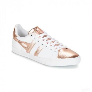 Gola Orchid Textile Metallic Blanc / Rose Gold Baskets Basses Femme Online Boutique