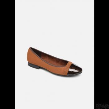 jana shoes glitter - marron Grosses soldes