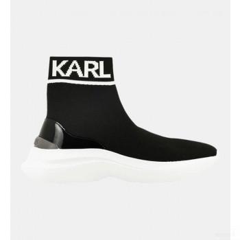 Karl Lagerfeld Baskets Montantes Socks Skyline Noir Vente en ligne