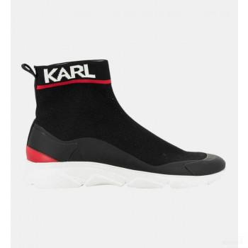 Karl Lagerfeld Baskets Montantes Forme Chaussettes Noir En ligne Shop
