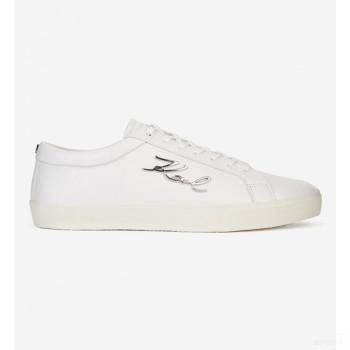 Karl Lagerfeld Tennis Skool Karl Signia Blanc Online Boutique