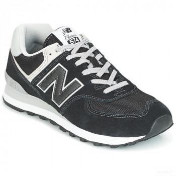New Balance Ml574 Noir Baskets Basses Homme Nouveautés Promos