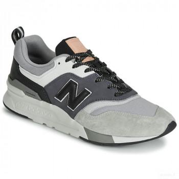 New Balance 997 Gris / Noir Baskets Basses Homme France Vente