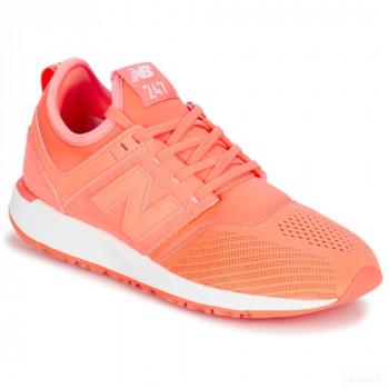 New Balance Wrl247 Orange Baskets Basses Femme Vente en ligne