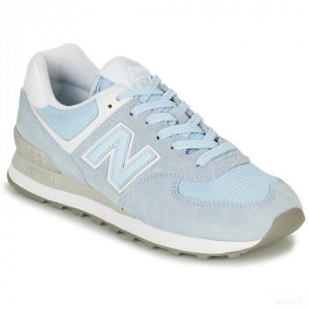 New Balance 574 Bleu Baskets Basses Femme En ligne Shop