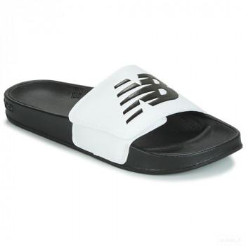 New Balance Sma200 Noir / Blanc Claquettes En Soldes