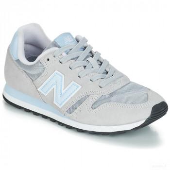 New Balance 373 Gris / Bleu Baskets Basses Femme Online Achat