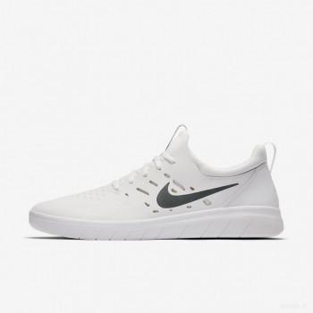 Nike SB Nyjah Free AA4272-100 Summit Blanc Vente Pas Cher