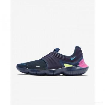 Nike Free RN Flyknit 3.0 AQ5707-400 La Marine De Minuit Nouveautés Promos