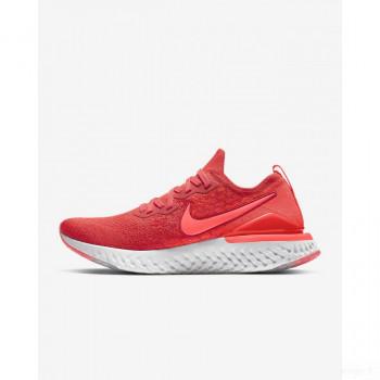 Nike Epic React Flyknit 2 BQ8928-601 Rouge Chili Nouveautés Promotions