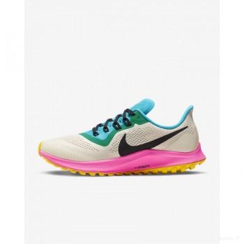 Nike Air Zoom Pegasus 36 Trail AR5676-101 Brun Clair Nouveautés Promos