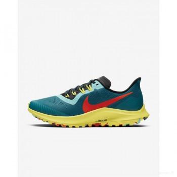 Nike Air Zoom Pegasus 36 Trail AR5676-301 Sarcelle Géode Dégagement