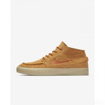 Nike SB Zoom Stefan Janoski Mid Crafted AQ7460-887 Cendre Orange Vente chaude