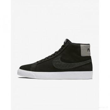 Nike SB Zoom Blazer Mid AH6158-001 Noir France Vente