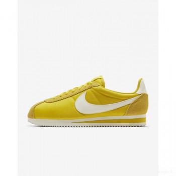 Nike Classic Cortez Nylon 749864-702 Citron Brillant Online Vente