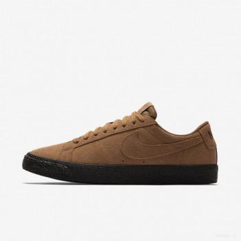 Nike SB Blazer Zoom Low 864347-200 Tan Britannique Léger En ligne Shop