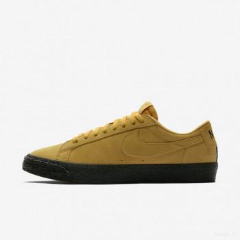 Nike SB Blazer Zoom Low 864347-701 Ocre Jaune Nouveautés Promotions