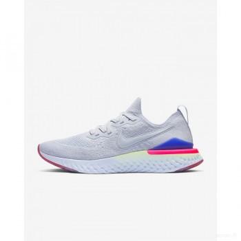 Nike Epic React Flyknit 2 BQ8927-453 Bleu D'hydrogène Grosses soldes