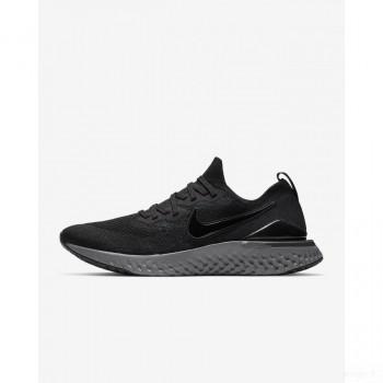 Nike Epic React Flyknit 2 BQ8928-001 Noir Remise Vente
