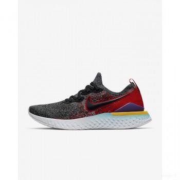 Nike Epic React Flyknit 2 BQ8928-007 Noir Outlet en ligne