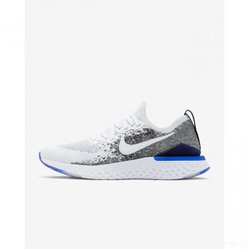 Nike Epic React Flyknit 2 BQ8928-102 Blanc Nouveautés Promotions