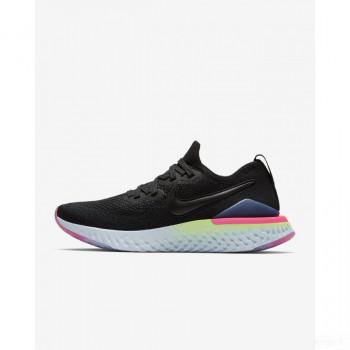 Nike Epic React Flyknit 2 BQ8927-003 Noir Grosses soldes