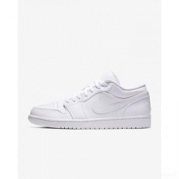 Nike - Air Jordan 1 Low 553558-112 Blanc Online Acheter