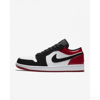 Nike - Air Jordan 1 Low 553558-116 Blanc Online Soldes