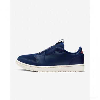Nike - Air Jordan 1 Retro Low Slip AV3918-408 Blue Void Online Soldes
