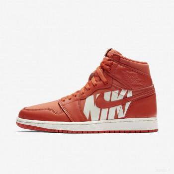 Nike - Air Jordan 1 Retro High OG 555088-800 Corail Vintage Nouveautés Promos