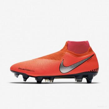 Nike Phantom Vision Elite Dynamic Fit Anti-Clog SG-PRO AO3264-600 Crimson Brillant Vente Pas Cher