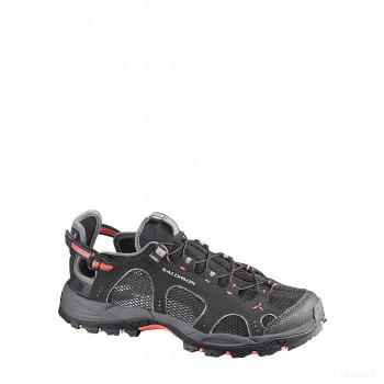 SALOMON Sandales de trekking semi-fermées Techamphibian gris Online Soldes