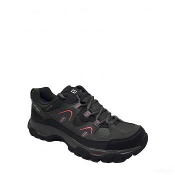 SALOMON Chaussures de randonnée en cuir Fortsleza GTX noir 2020 Outlet