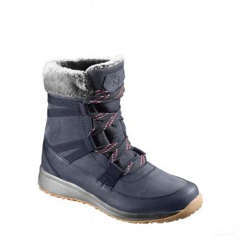 SALOMON Boots d'hiver Heika bleu foncé Grosses soldes
