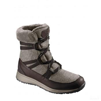 SALOMON Boots d'hiver Heika marron Online Vente