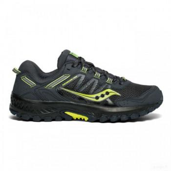 padel homme saucony chaussures saucony versafoam excursion tr13 gris noir jaune fluo Vente en ligne