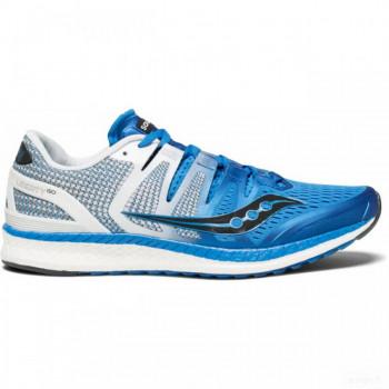 running homme saucony saucony - liberty iso hommes chaussure de course (bleu/blanc) Remise Vente