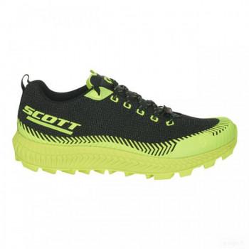 homme scott chaussures scott supertrac ultra rc noir jaune Vente chaude