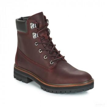 Timberland London Square 6in Boot Bordeaux Boots Femme Nouveautés Promos
