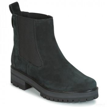 Timberland Courmayer Valley Chelsea Noir Boots Femme Vente chaude
