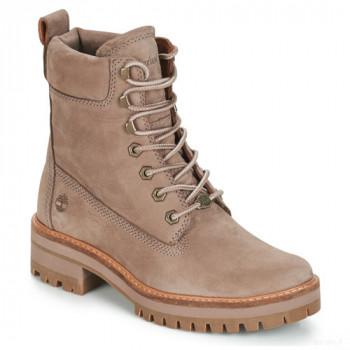 Timberland Courmayeur Valley Yboot Taupe Boots Femme En ligne Shop