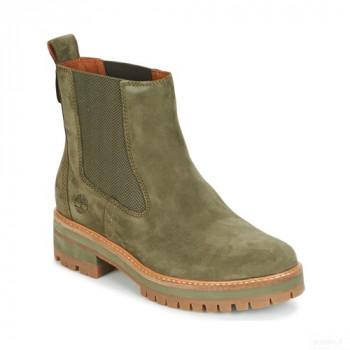 Timberland Courmayer Valley Chelsea Kaki Boots Femme Online Soldes