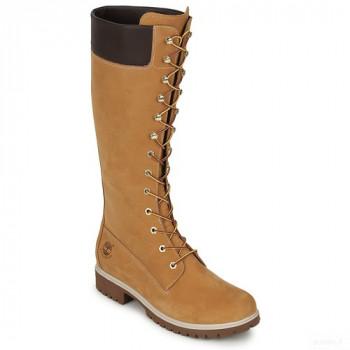 Timberland Women's Premium 14in Wp Boot Cognac Bottes Ville Femme Nouveautés Promos