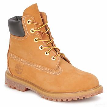 Timberland 6 In Premium Boot Beige Boots Femme En Soldes
