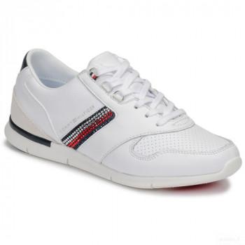 Tommy Hilfiger Crystal Lightweight Sneaker Blanc Baskets Basses Femme Online Soldes