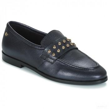 Tommy Hilfiger Round Stud Loafer Noir Mocassins Femme Online Achat