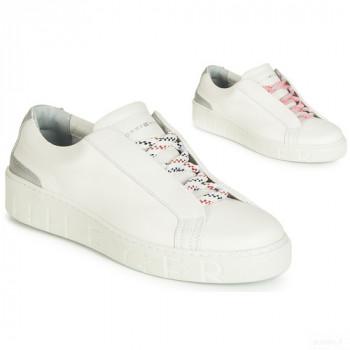Tommy Hilfiger Sandie 4a Blanc Baskets Basses Femme Online Boutique